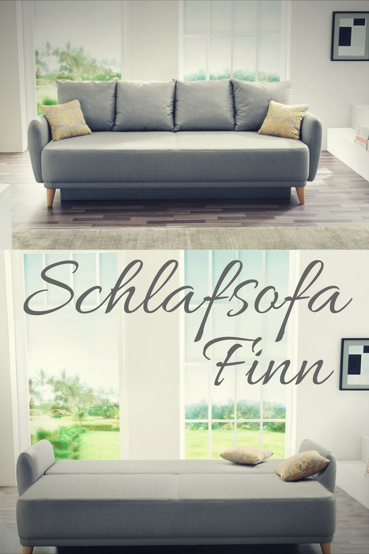 17 best ideas about schlafsofa grau on pinterest design schlafsofa graues couch zimmer and. Black Bedroom Furniture Sets. Home Design Ideas