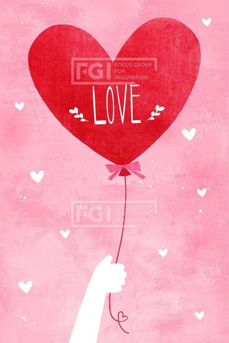 PAI122b, PAI122, 연인데이, 에프지아이, 발렌타인데이, 화이트데이, 행복, 사랑, 사람, 하트, 풍선, 커플, 손, 1인, 일러스트, illust, illustration #유토이미지 #프리진 #utoimage #freegine 19701919