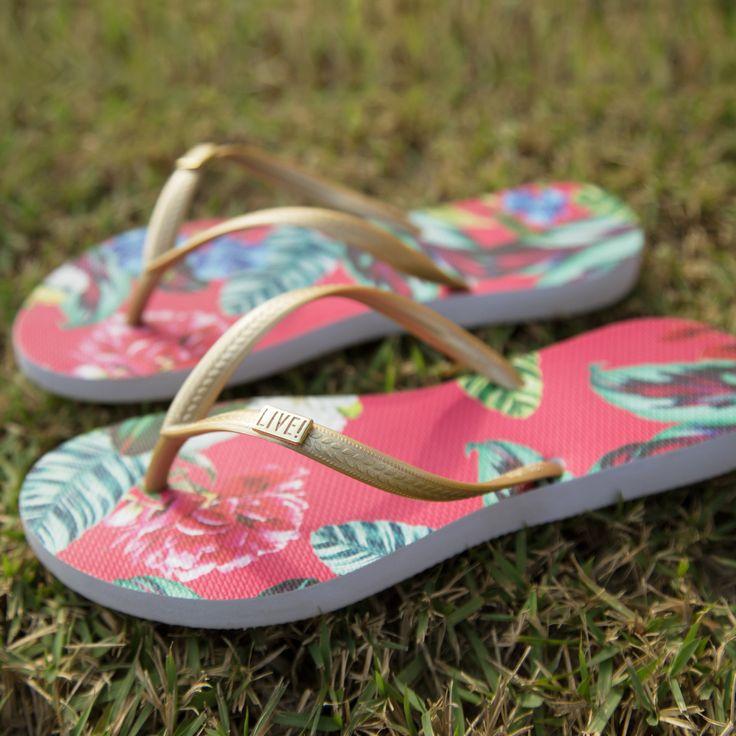 LIVE! Acessórios • Beach • Chinelo Endless   #accessories #beach #summer