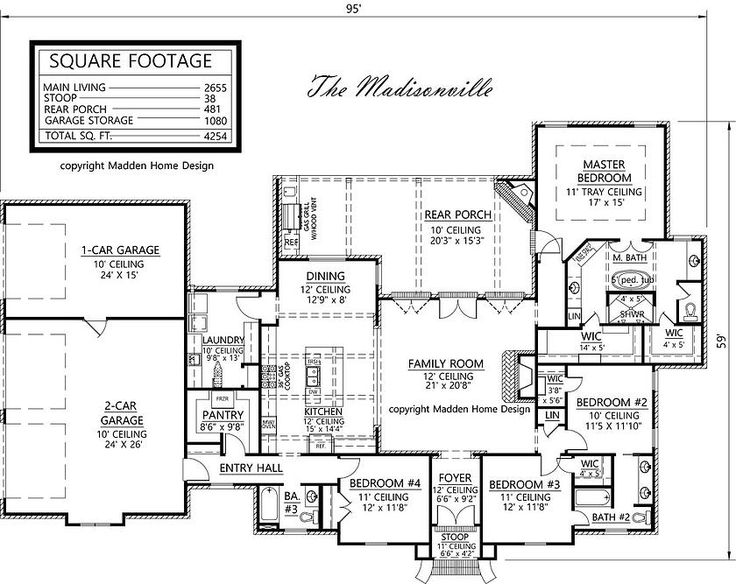 6 bedroom country house plans