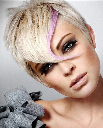 Hravý účes pro krátké vlasy | Hair if you dare.... | Pinterest