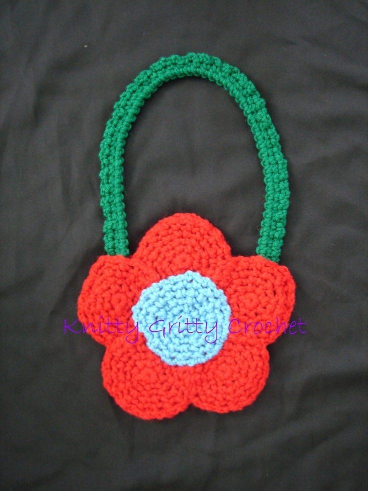 Crochet Purse For Child : ... by robinmeaddesigns robin mead designs childs crochet bag see more