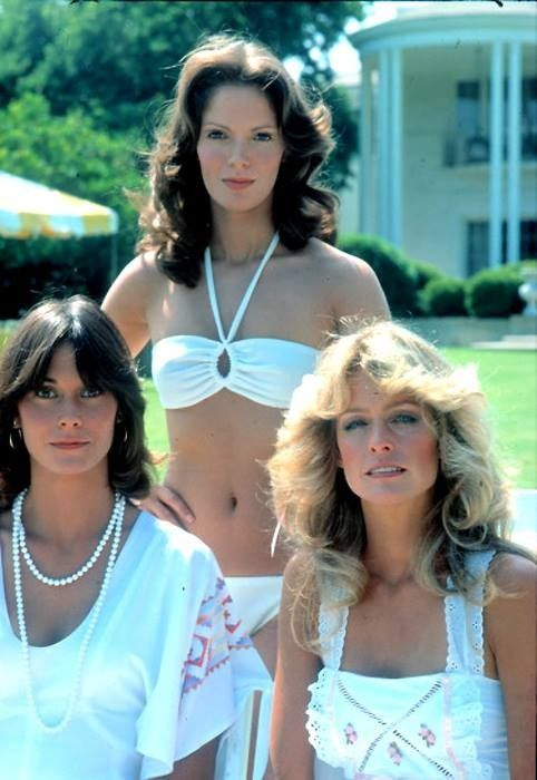 The incredible and amazing Farrah Fawcett, Kate Jackson and Jaclyn Smith on the incredible y super successful tv show Charlie's Angels                                                                                                                                                      More