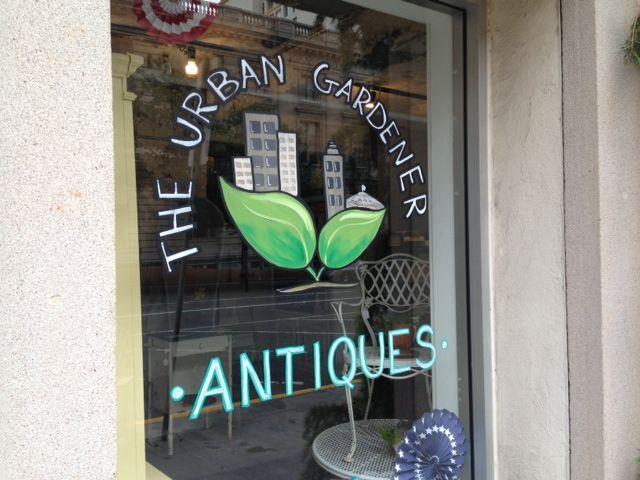 The Urban Gardener. Garden Antiques In Downtown Tacoma.