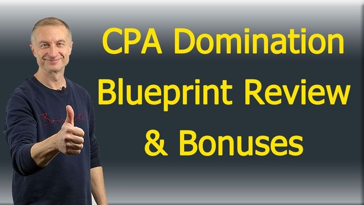 Cpa Domination Blueprint Review https://youtu.be/PYroFw2MLTs