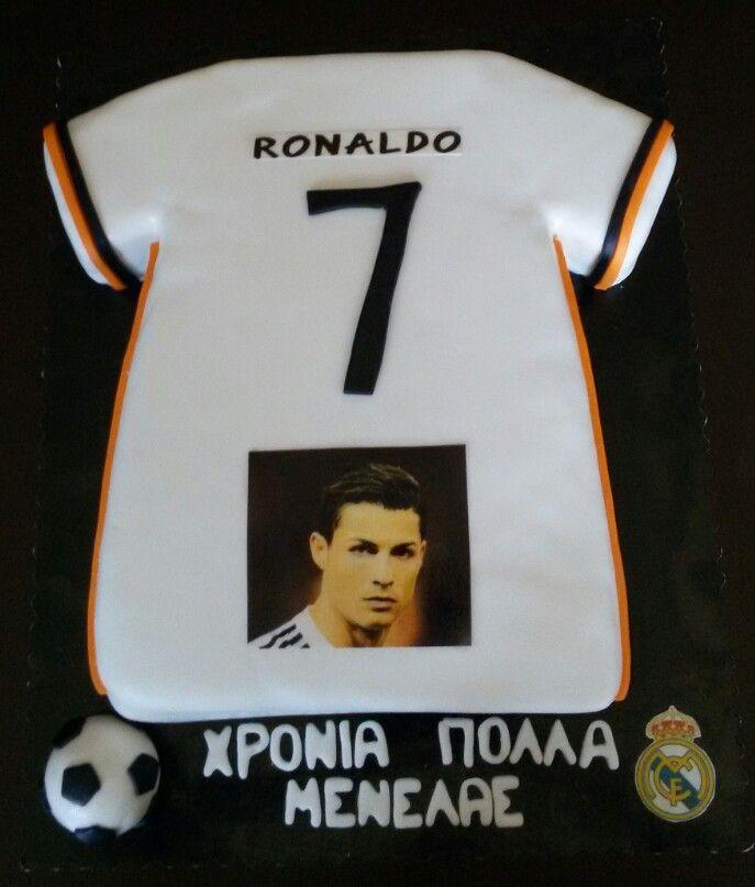 Ronaldo Birthday Cakes Pinterest Ronaldo Birthday