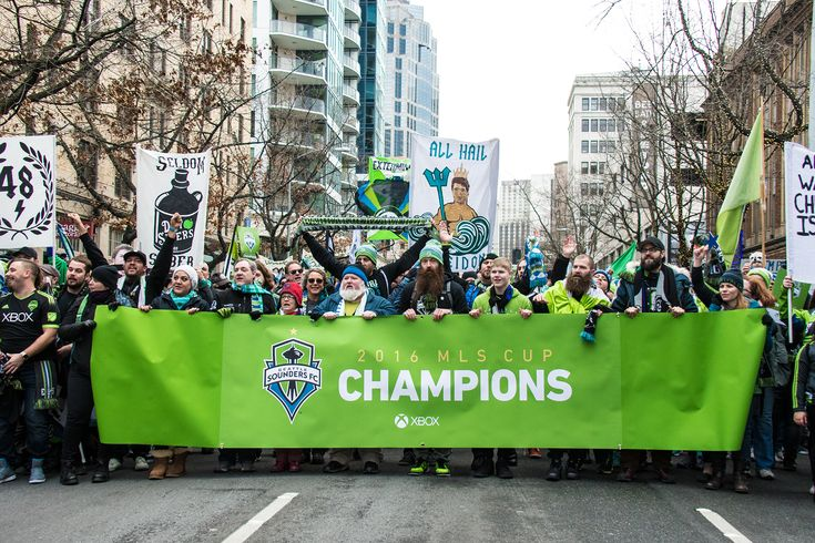 Thanks to my friend and Seattle Sounders FC season ticket holder Matthew Sursely I actually went to several games this season and enjoyed it quite a bit. I ventured down the the celebratory parade and captured some video and photos for Do206.