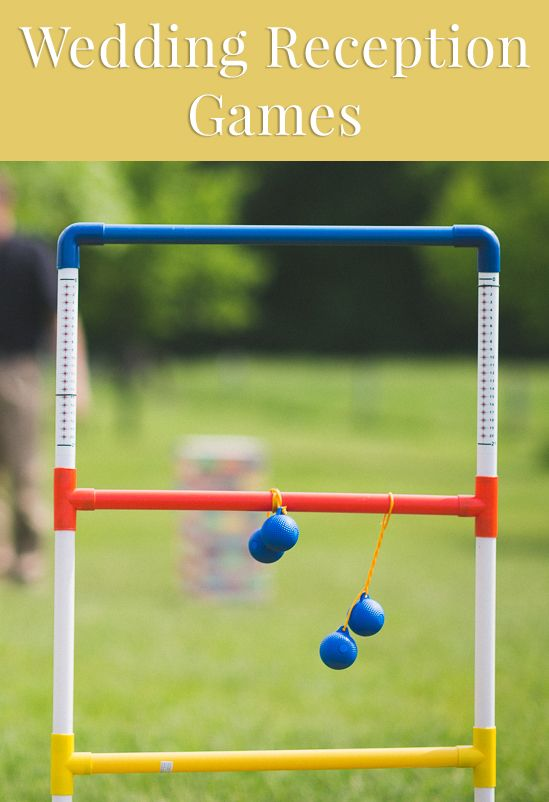 Wedding reception games for guests >>