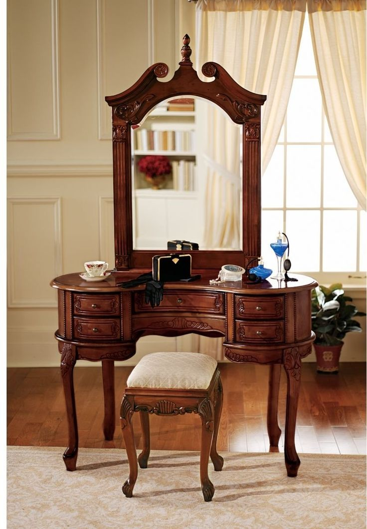 best 25 cheap vanity table ideas on pinterest cheap 15204 | 0558ef5cb6262434199cc3c1564e0f9d queen anne furniture vintage dressing tables