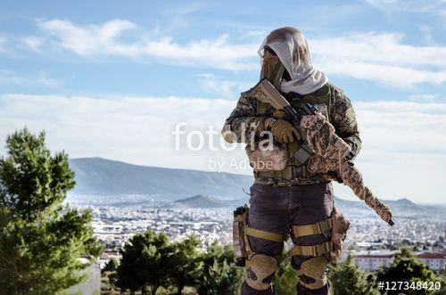 Sniper look around