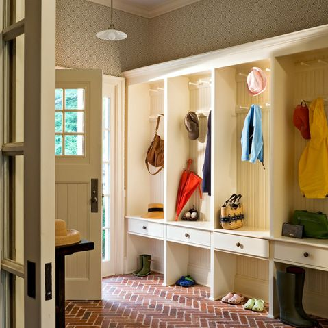Enclosed Front Porch Mud Room Design Ideas, Pictures, Remodel and Decor