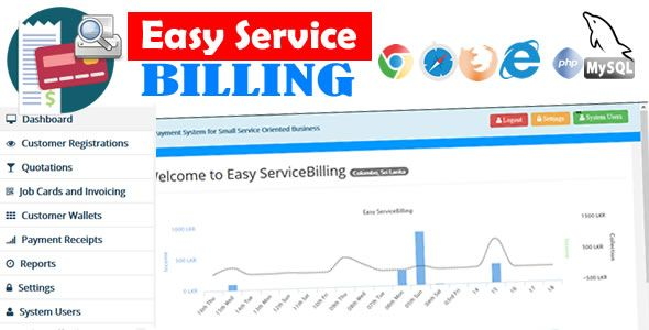 EasyService Billing - PHP Scripts for Quotation, Invoice, Payments etc.