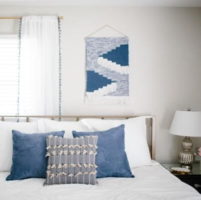 + living room // wall hanging from Target!