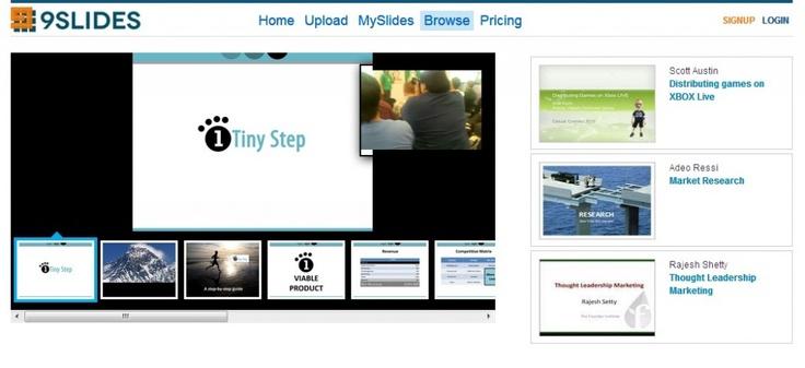 9Slides, presentaciones que combinan diapositivas y vídeo