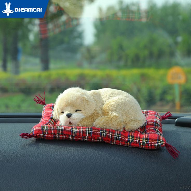 Creative Air Freshener Solid Nano Mineral Crystals Cute Car Air Freshener Simulation Dog Cat Charcoal Bag For Car/Household