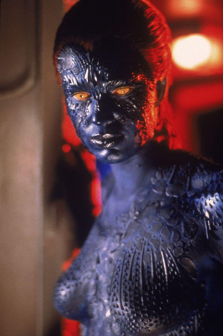 Rebecca romijn mystique body paint