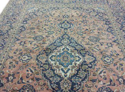 roze kashan tapijt