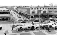 Photo of Town Square And Broad Walk c1960, Harlow