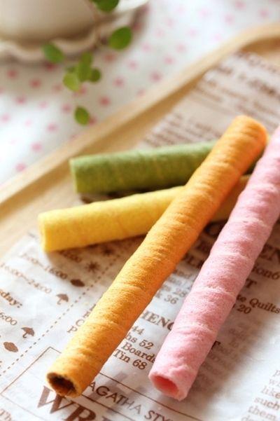 カラフルで可愛い野菜のお菓子「ベジフルスティック」 by みゆKitchen ...