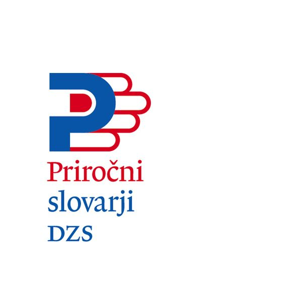 """Concise English-Slovenian & SlovenianEnglish Dictionary, logo (Accurate Slovene translation for Concise means """"handy"""".)"""
