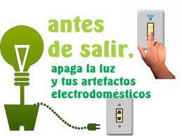 Resultado de imagen para pancarta de ahorro de energia electrica