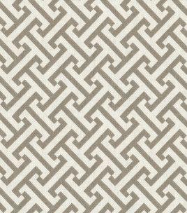 Home Decor Print Fabric-Pkaufmann Cross Section Charcoal $14.99