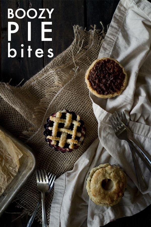Boozy Pie Bites For the grown ups obviously