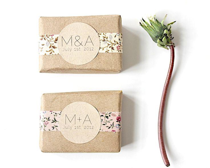 soap wedding favors by herbivorebotanicals