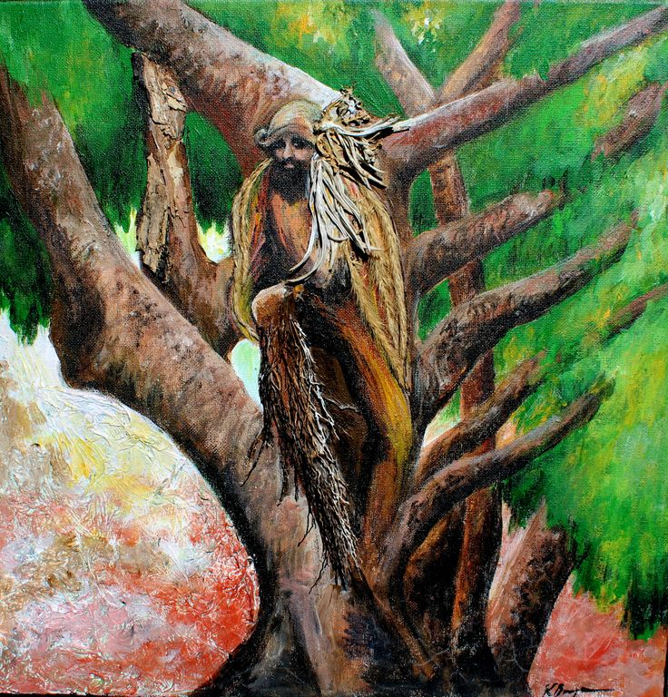 """No 2 """" Man of the Tree""""   $140 SOLD"""