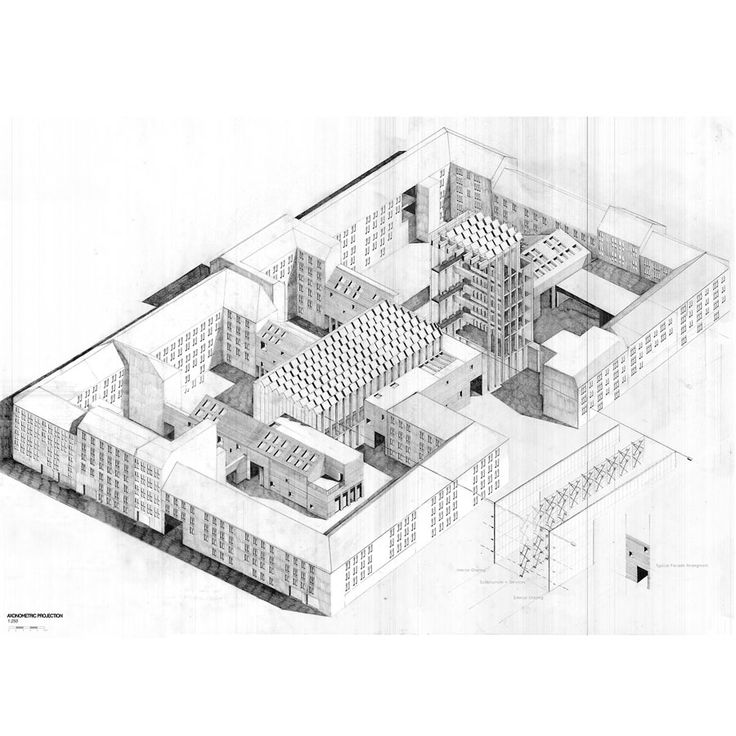 111 best Axonometric drawings images on Pinterest