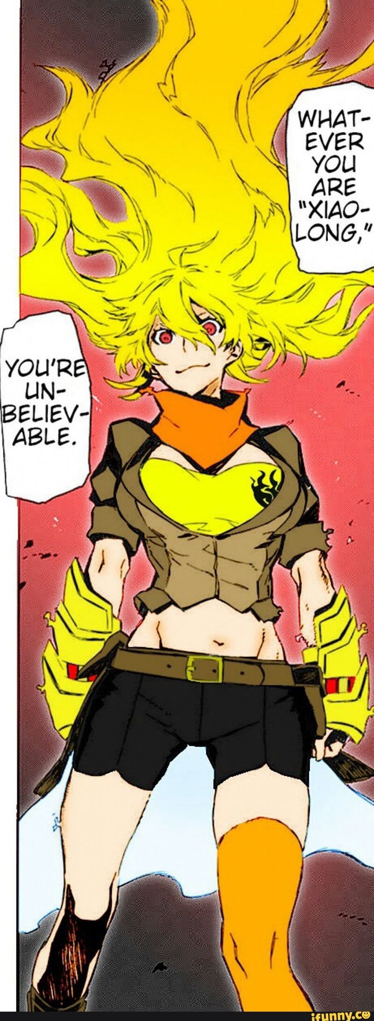 RWBY, yang why is she pissed she looks happy
