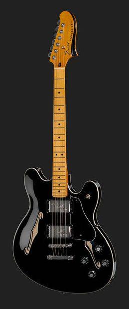 Fender Starcaster Guitar MN BLK - Thomann Greece
