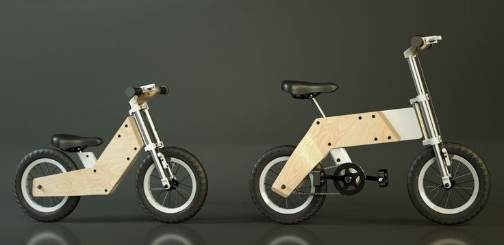 Miilo bike: from push to pedal
