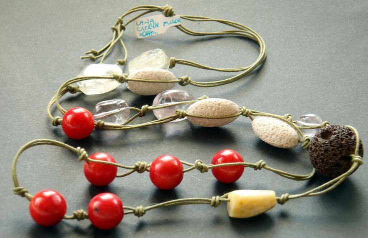 Lawa, koral, fluoryt, cytryn, agat w zlotywilk na DaWanda.com