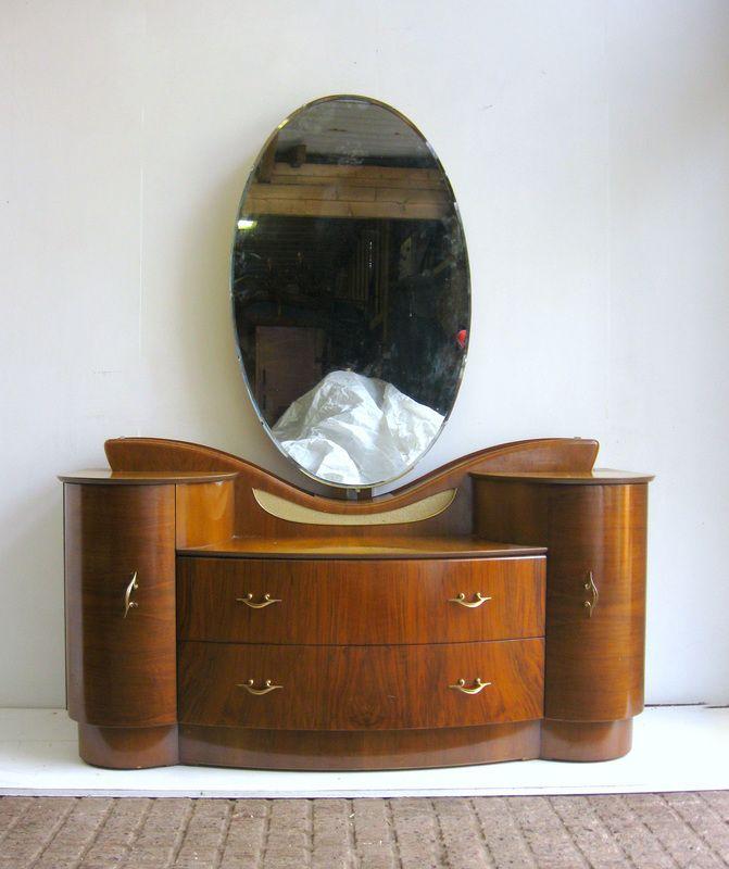 Art Deco dressing table.