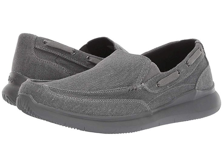 Propet Viasol Men's Slip on Shoes Grey in 2019 | Mens slip