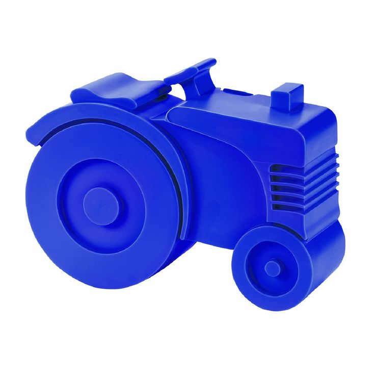 Blafre, Madkasse plast Traktor Kobolt blå – Shop NOPA