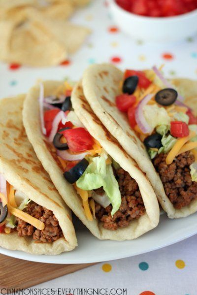 Homemade Gorditas {Taco Bell Copycats} by Cinnamon Spice and Everything Nice