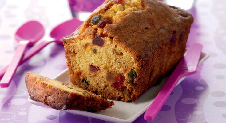Recette De Cake Sucr Ef Bf Bd Aux Fruits Confits