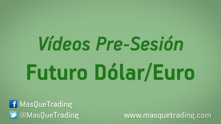 Vídeo análisis pre-sesión del Futuro Dólar-Euro (6E) día 1-12-2015     http://www.masquetrading.com/mercado/Dolar_Euro.html Comentarios y consultas a info@masquetrading.com