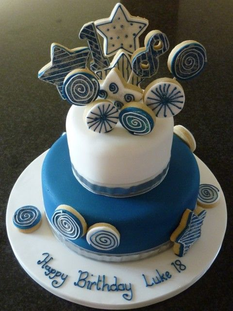 17 best ideas about 18 birthday cakes on pinterest for 18th cake decoration