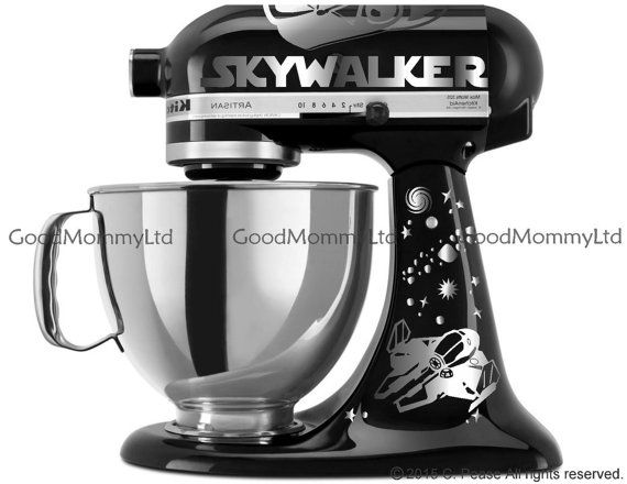 Vader/Skywalker Decal Kit for your KitchenAid by GoodMommyLtd