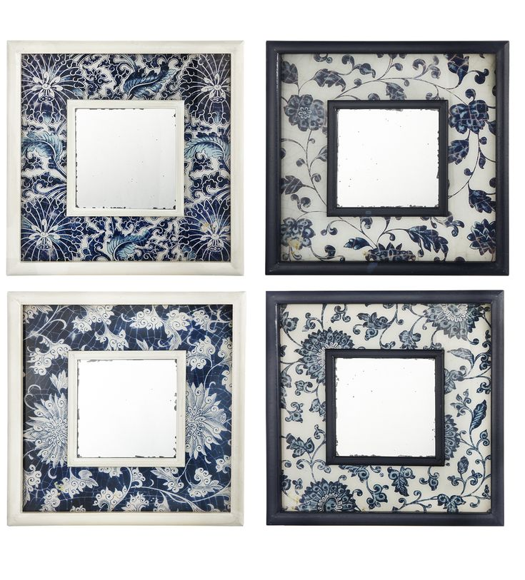«Arteva Home» - Каталог - Настенные зеркала - Набор зеркал (4 шт) 40 х 40 см