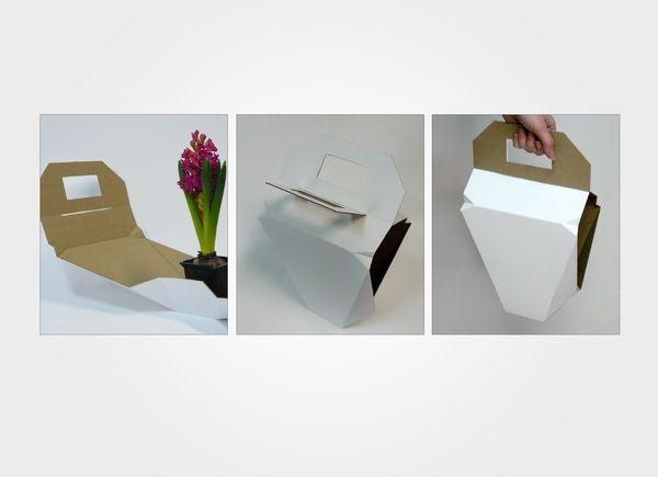 Flower Garden- packaging for flower by Milena Włodarczyk, via Behance