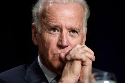 Joe Biden, with his son, Beau Biden. (Justin Sullivan/Getty) - Provided by Vox.com