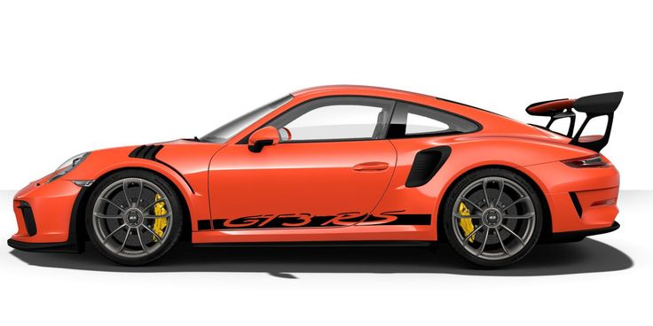 How Would You Order a Porsche 911 GT3 RS?