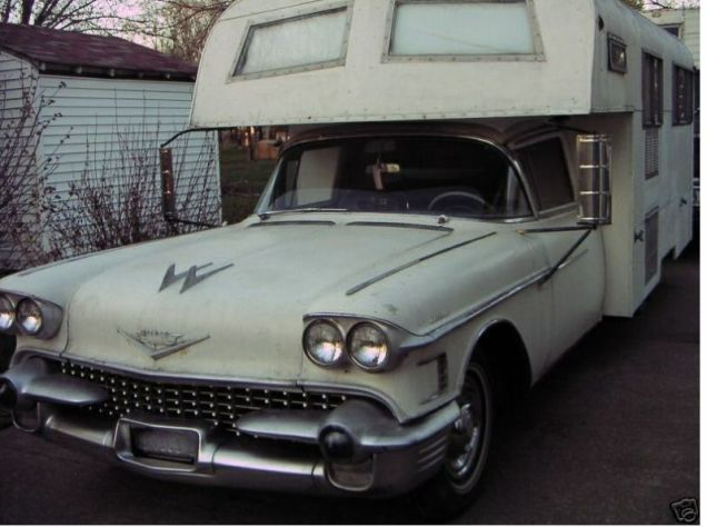 If 1950s Mobsters Went Camping, They'd Take This Cadillac ...