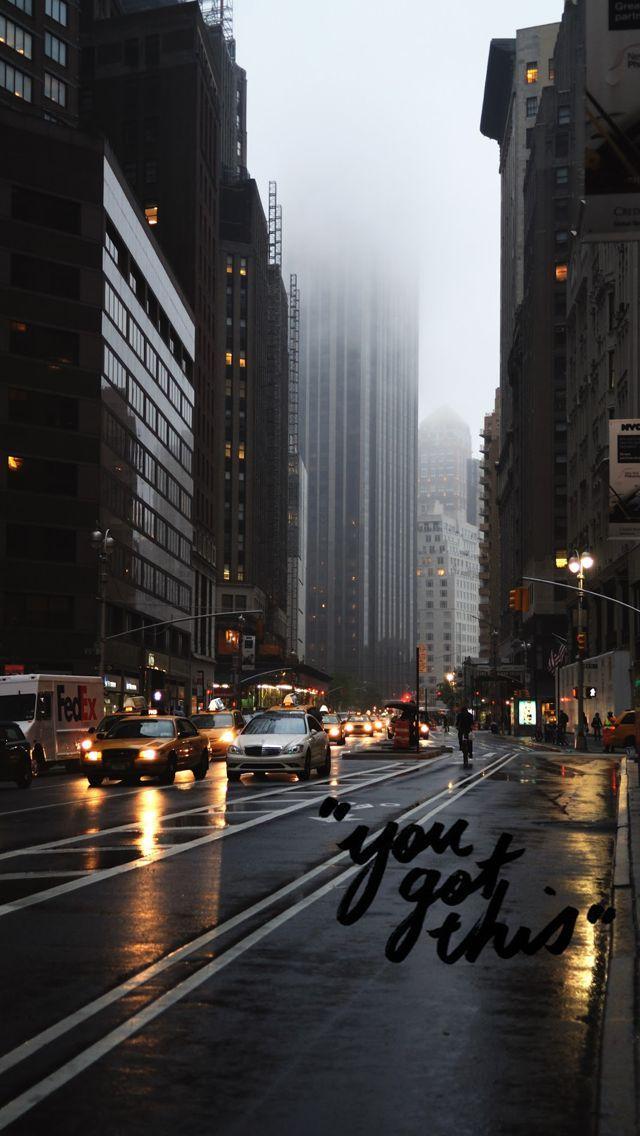 New York City Wallpaper City Aesthetic Rainy City