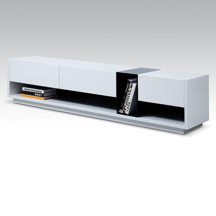 Lorita TV Stand in white gloss