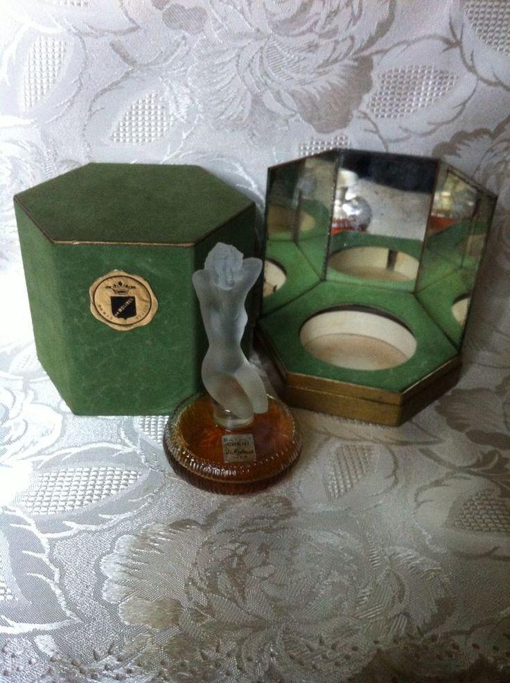 Ancien Flacon De Parfum---PRINCE. CHÉRI ---de Molines. Dans Coffret